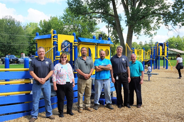 County unveils new playground at West Canal Park
