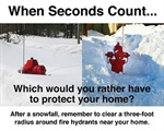 Residents Asked to Keep Hydrants Clear