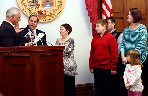 McNall Begins Tenure as Legislature Chairman