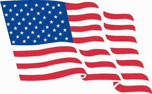 American Flag - Niagara County Thank a vet program