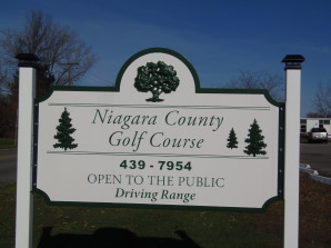 New Golf Course sign