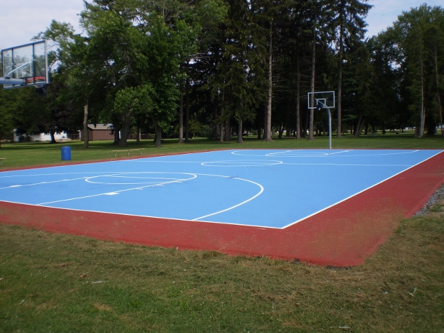 Backetball court