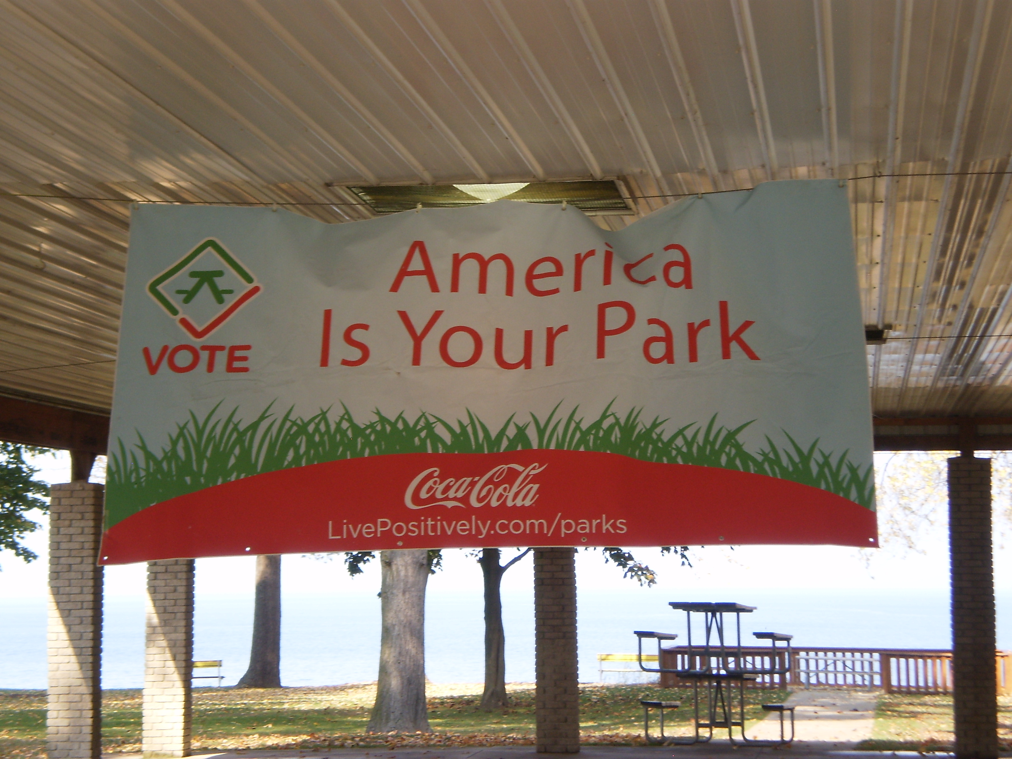 America is your park sign