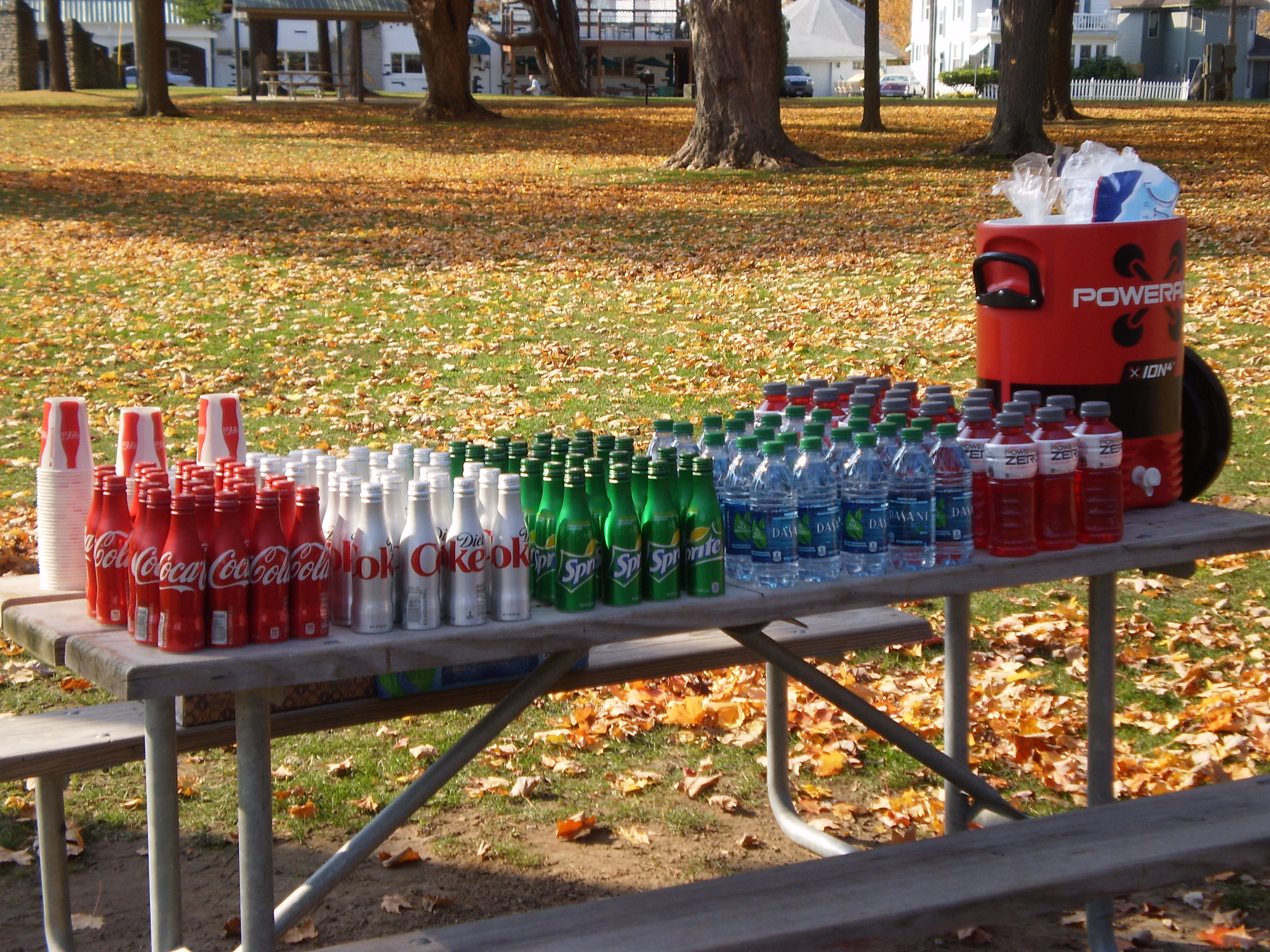 Coca-Cola beverages provided by Coke