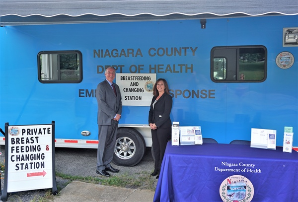 County set to provide Mobile Breastfeeding & Changing Station at Peach Fest
